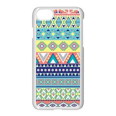Tribal Print Apple Iphone 7 Seamless Case (white) by BangZart
