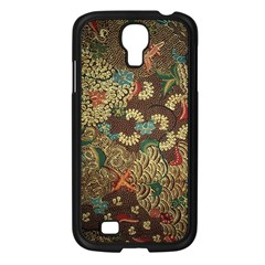 Traditional Batik Art Pattern Samsung Galaxy S4 I9500/ I9505 Case (black)