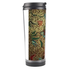 Traditional Batik Art Pattern Travel Tumbler by BangZart