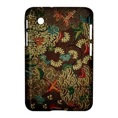 Traditional Batik Art Pattern Samsung Galaxy Tab 2 (7 ) P3100 Hardshell Case
