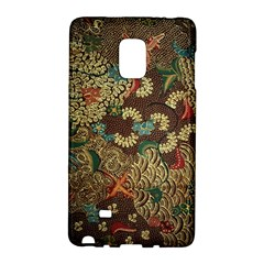Traditional Batik Art Pattern Galaxy Note Edge by BangZart