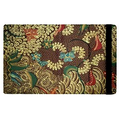 Traditional Batik Art Pattern Apple Ipad Pro 9 7   Flip Case by BangZart