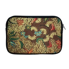 Traditional Batik Art Pattern Apple Macbook Pro 17  Zipper Case by BangZart