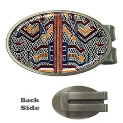 Traditional Batik Indonesia Pattern Money Clips (oval)  by BangZart