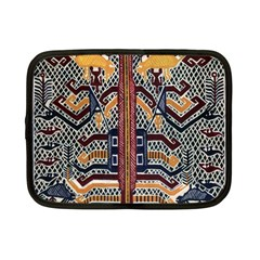 Traditional Batik Indonesia Pattern Netbook Case (small)  by BangZart