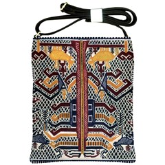 Traditional Batik Indonesia Pattern Shoulder Sling Bags by BangZart
