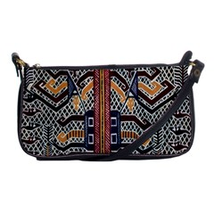 Traditional Batik Indonesia Pattern Shoulder Clutch Bags by BangZart