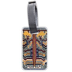 Traditional Batik Indonesia Pattern Luggage Tags (one Side)  by BangZart