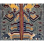Traditional Batik Indonesia Pattern Deluxe Canvas 14  x 11  14  x 11  x 1.5  Stretched Canvas