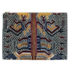 Traditional Batik Indonesia Pattern Cosmetic Bag (xxl)  by BangZart