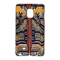 Traditional Batik Indonesia Pattern Galaxy Note Edge by BangZart
