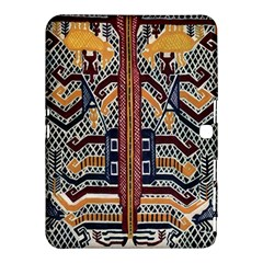Traditional Batik Indonesia Pattern Samsung Galaxy Tab 4 (10 1 ) Hardshell Case  by BangZart
