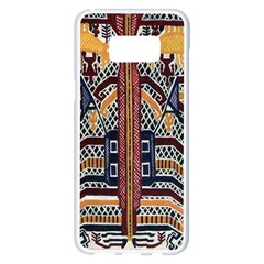 Traditional Batik Indonesia Pattern Samsung Galaxy S8 Plus White Seamless Case by BangZart
