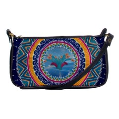 Traditional Pakistani Art Shoulder Clutch Bags by BangZart