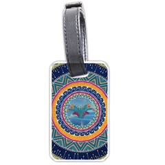 Traditional Pakistani Art Luggage Tags (one Side)  by BangZart