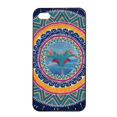 Traditional Pakistani Art Apple Iphone 4/4s Seamless Case (black) by BangZart