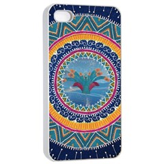 Traditional Pakistani Art Apple Iphone 4/4s Seamless Case (white) by BangZart