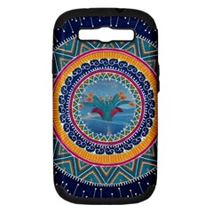 Traditional Pakistani Art Samsung Galaxy S Iii Hardshell Case (pc+silicone) by BangZart