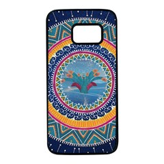 Traditional Pakistani Art Samsung Galaxy S7 Black Seamless Case