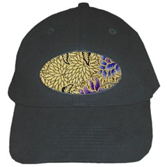 Traditional Art Batik Pattern Black Cap by BangZart