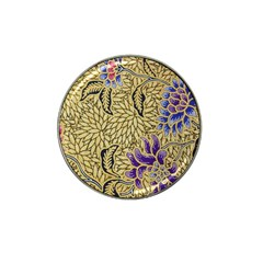 Traditional Art Batik Pattern Hat Clip Ball Marker (4 Pack) by BangZart
