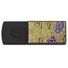 Traditional Art Batik Pattern Rectangular Usb Flash Drive by BangZart