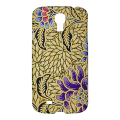 Traditional Art Batik Pattern Samsung Galaxy S4 I9500/i9505 Hardshell Case by BangZart