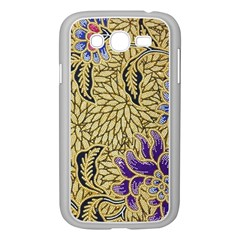 Traditional Art Batik Pattern Samsung Galaxy Grand Duos I9082 Case (white)