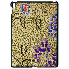 Traditional Art Batik Pattern Apple Ipad Pro 9 7   Black Seamless Case by BangZart