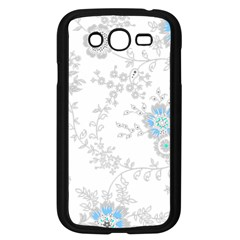 Traditional Art Batik Flower Pattern Samsung Galaxy Grand Duos I9082 Case (black) by BangZart