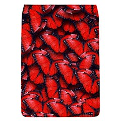 The Red Butterflies Sticking Together In The Nature Flap Covers (s)  by BangZart