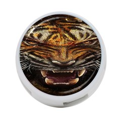 Tiger Face 4 Port Usb Hub (two Sides)  by BangZart