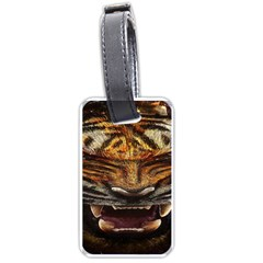 Tiger Face Luggage Tags (one Side)  by BangZart
