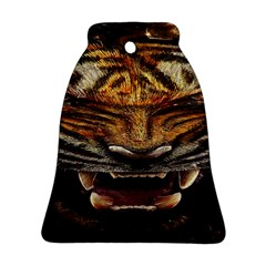 Tiger Face Ornament (bell) by BangZart