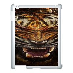 Tiger Face Apple Ipad 3/4 Case (white) by BangZart