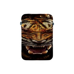 Tiger Face Apple Ipad Mini Protective Soft Cases by BangZart