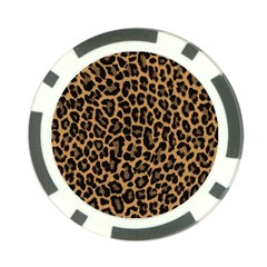 Tiger Skin Art Pattern Poker Chip Card Guard (10 Pack) by BangZart