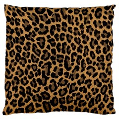 Tiger Skin Art Pattern Standard Flano Cushion Case (one Side)