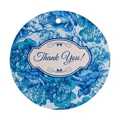 Thank You Ornament (round) by BangZart