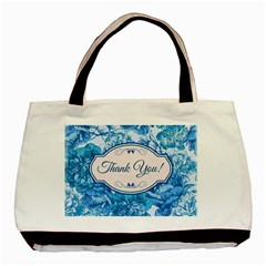 Thank You Basic Tote Bag by BangZart