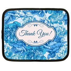 Thank You Netbook Case (large) by BangZart