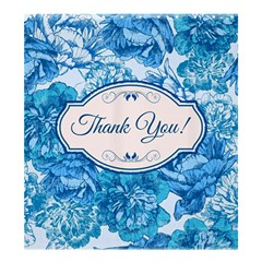 Thank You Shower Curtain 66  X 72  (large)  by BangZart