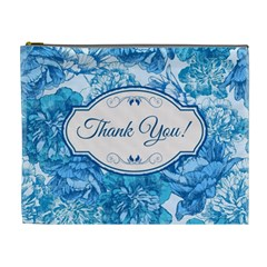 Thank You Cosmetic Bag (xl) by BangZart