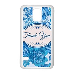 Thank You Samsung Galaxy S5 Case (white) by BangZart