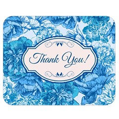 Thank You Double Sided Flano Blanket (medium)  by BangZart