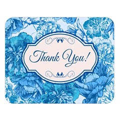 Thank You Double Sided Flano Blanket (large)  by BangZart