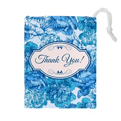 Thank You Drawstring Pouches (extra Large)