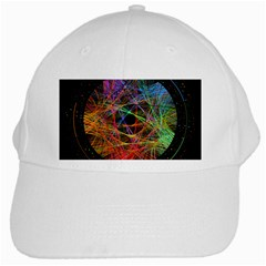 The Art Links Pi White Cap by BangZart