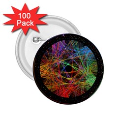 The Art Links Pi 2 25  Buttons (100 Pack)