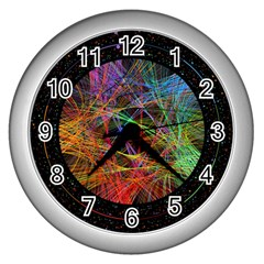 The Art Links Pi Wall Clocks (silver)  by BangZart